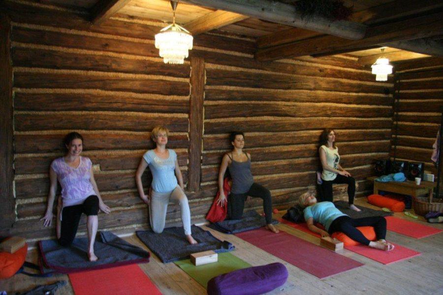 Jesnienny wyjazd z jogą 2011